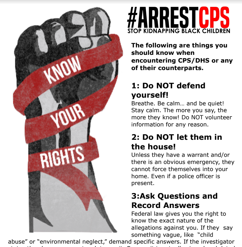 ArrestCPS Campaign | ANWO