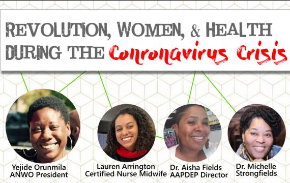 Revolution, Women and Health During the Coronavirus Crisis
