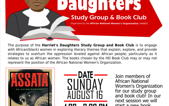 Harriet's Daughters Study Group and Book Club