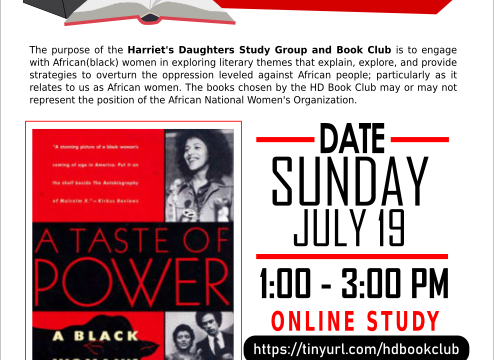 Harriet's Daughters Study Group & Book Club